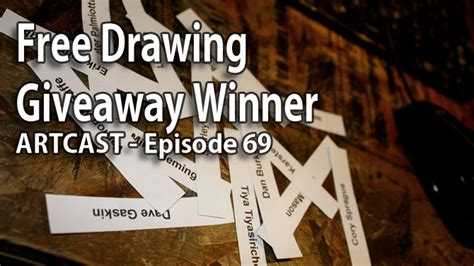 Drawing Giveaway - artcast 69 free drawing giveaway winner by jefflafferty on deviantart
