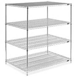 uline wire shelving chrome wire shelving unit 48 x 36 x 54 quot h 2949 54 uline