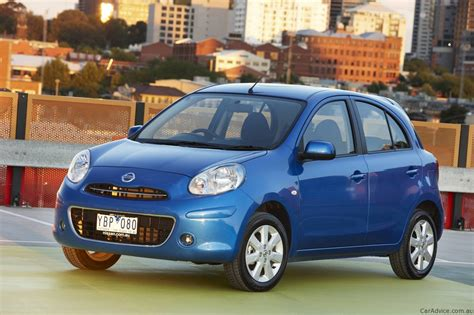 blue nissan micra nissan micra review photos caradvice