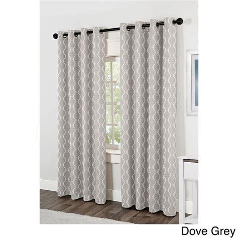 grommet top curtains 84 baroque grommet top 84 inch curtain panel pair