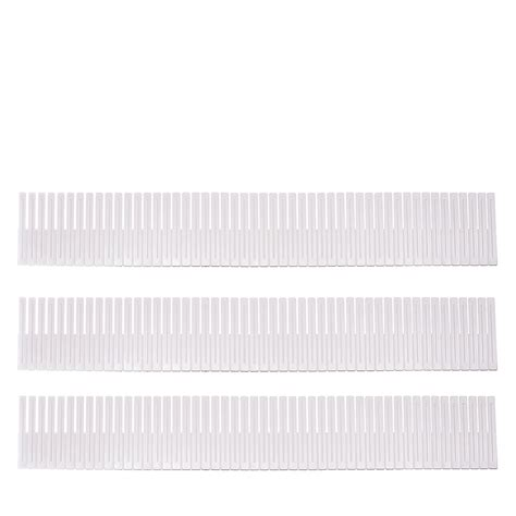 Slotted Interlocking Drawer Organizers by Slotted Plastic Interlocking Drawer Dividers Sorbus