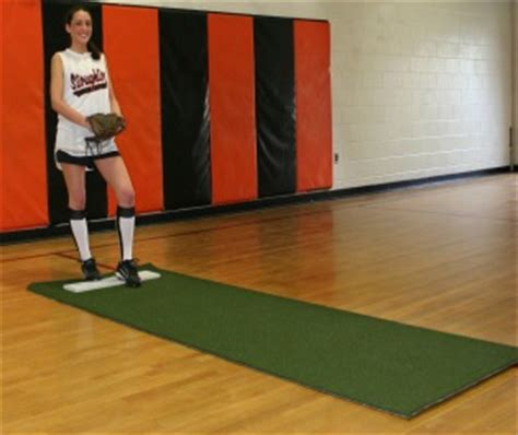 Softball Pitching Mat by In The Zone Sports Center Pitching Mounds In The Zone