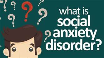Social phobia what is social anxiety disorder youtube