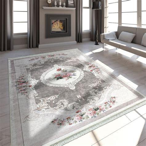 tappeto vintage tappeto trendy motivo vintage beige marrone tapetto24