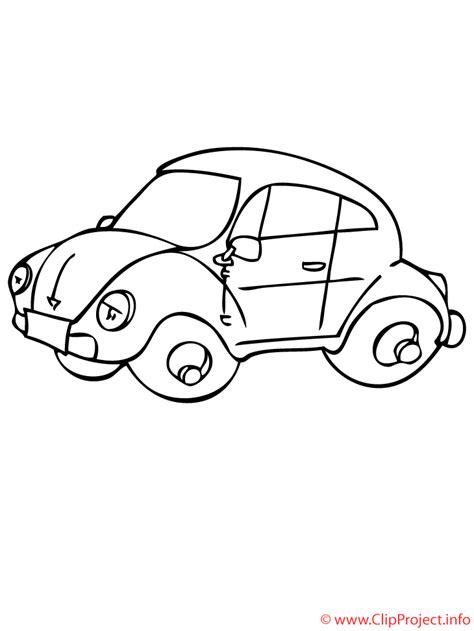 Ausmalbild Käfer Auto