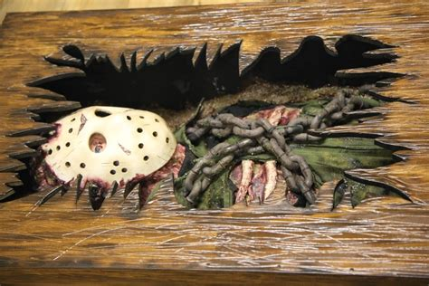 jason voorhees coffee table custom friday the 13th coffee table imprisons jason