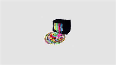 tv test pattern iphone wallpaper artwork minimalistic multicolor paint simple backgrou