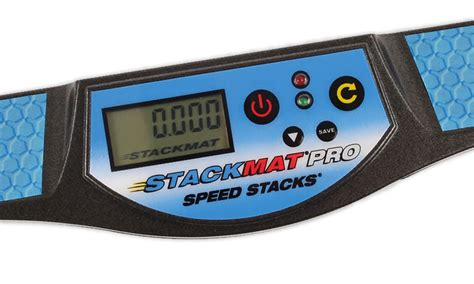 Speed Stack Mat And Timer by Stackmat Pro Sport Stacking