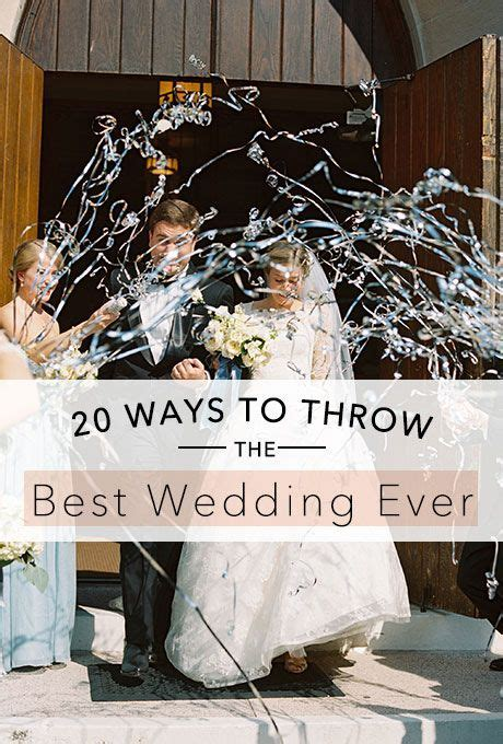Tips on How to Throw the Best Wedding Ever   Planning Tips