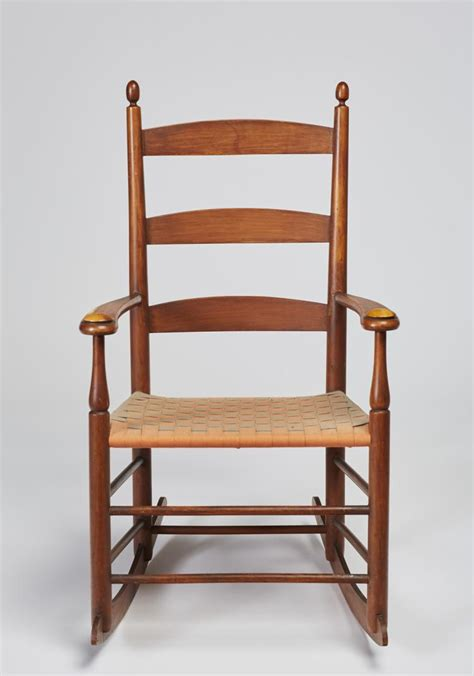 shaker rocking chair signed shaker rocking chair with arms 5