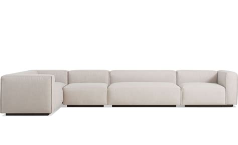 Big Sectional Sofas Cleon Large Sectional Sofa Hivemodern