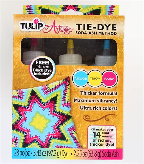tulip 174 artisan soda ash method tie dye kit jo