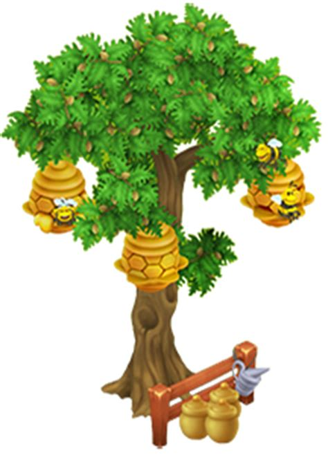 Image Wisteria Tree Png Hay Day Wiki Fandom Albero Con Alveare Hay Day Wiki Fandom Powered By Wikia