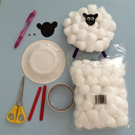 How To Make A Paper Sheep - homeschooling diy sheep