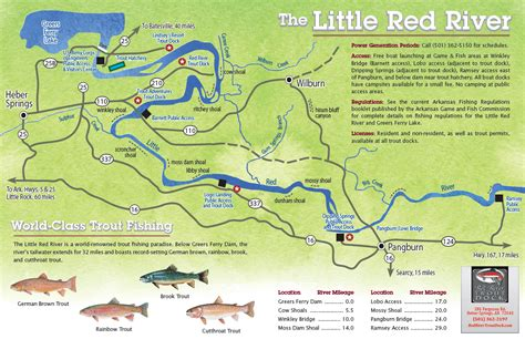 arkansas trout fishing maps pictures river go see do ar