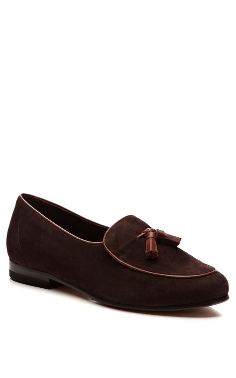 womens italian loafers cb made in italy womens handmade tasseled suede loafers in