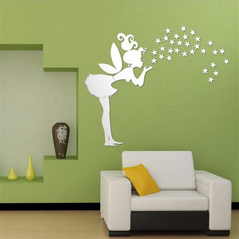buy fairy wall stickers stars girl wall art home
