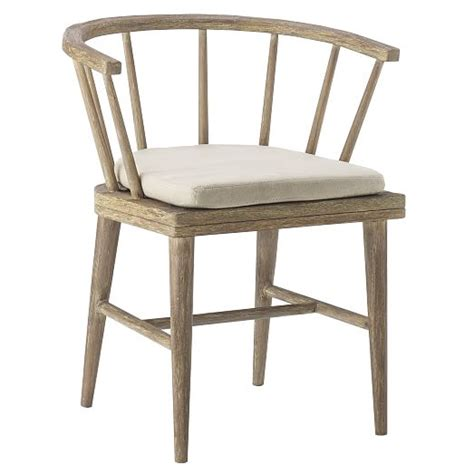 outdoor dining chair cushion west elm