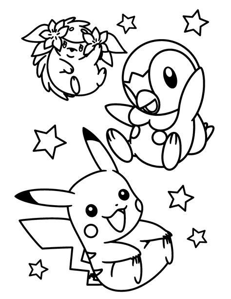 pokemon easter coloring pages coloring page pokemon diamond pearl coloring pages 20