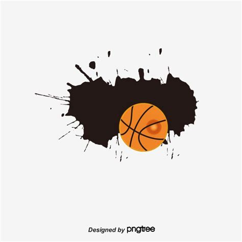 Basketball Clipart Vector Basketball Background Basketball Poster Basketball Vector