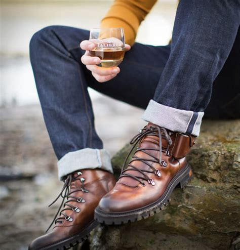Sepatu Boot Oliver made by the sea boot modis penyimpan whisky langka