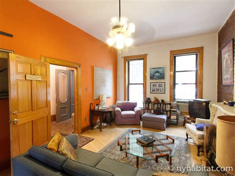 New York Roommate Room For Rent In Clinton Hill 2 New York 2 Bedroom Duplex Apartment Living Room Ny
