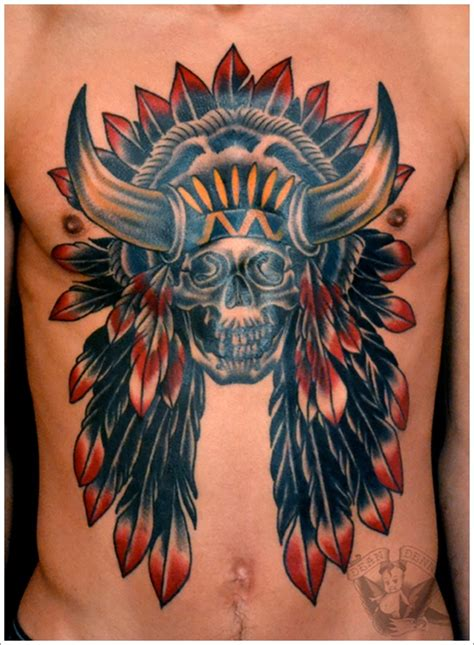 native american tattoo meanings 40 american designs that make you proud
