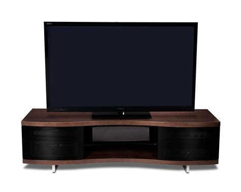 bdi ola triple wide tv stand modern home theatre stands