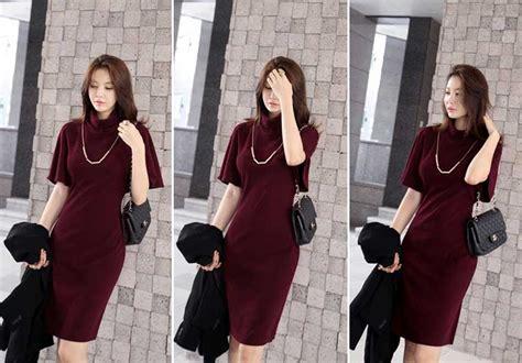 Dress Dress Korea Baju Korea 122 dress wanita model korea jual model terbaru