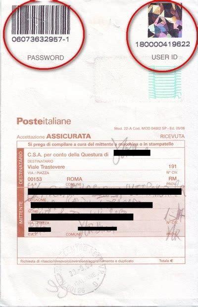 permesso di soggiorno poste la nostra italia permesso di soggiorno