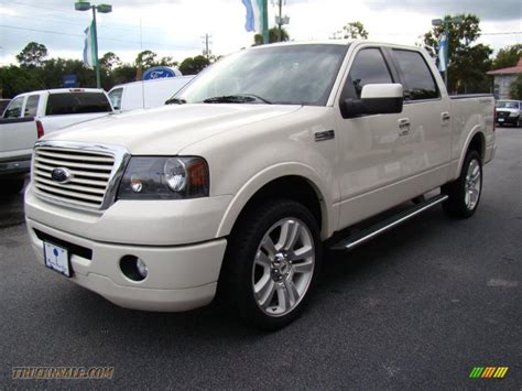 2008 ford f150 limited 2008 ford f150 limited supercrew 4x4 in white sand tri