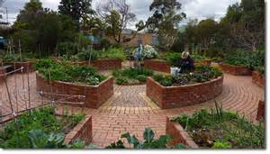 Raised Garden Beds Brick - incorporating disability access and therapeutic spaces in permaculture design the permaculture