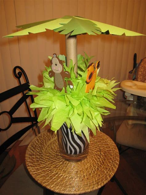 Safari Baby Shower Centerpieces baby shower food ideas baby shower centerpiece ideas