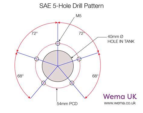 3 hole dimensions fl 2 flange wema uk
