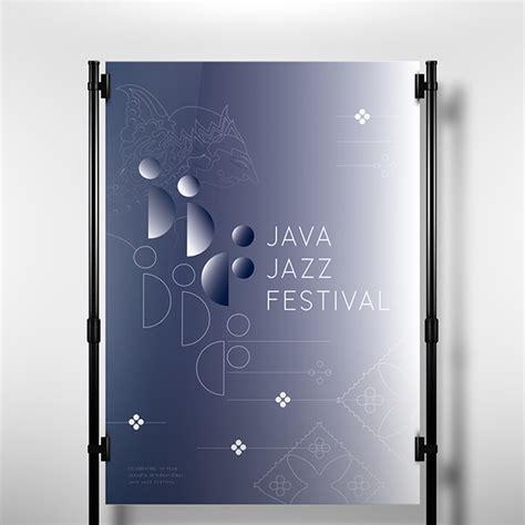 design poster jogja java jazz festival poster on student show