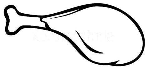 coloring page of chicken leg how to draw chicken drumstick coloring pages