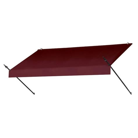 awning retractable manually awnings in a box 8 ft designer manually retractable