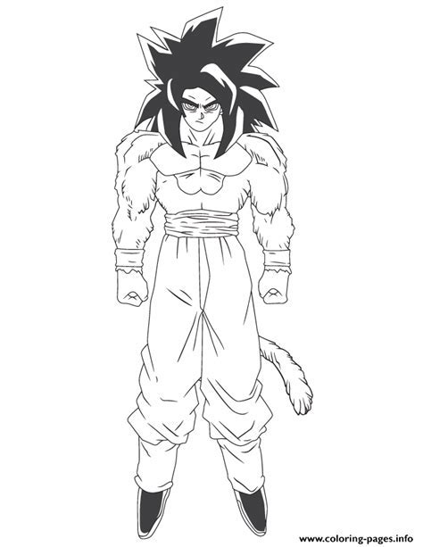 dbz gogeta coloring pages kids coloring - Gogeta Coloring Pages