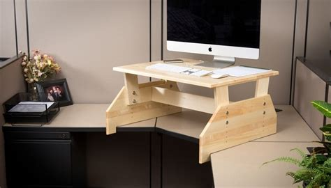 minimalist office desk diy diy standing desks stand up desk and desks ideas