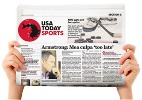 usa today sports section usa today offers