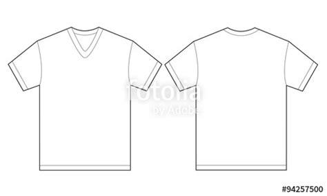 white v neck t shirt template quot white v neck shirt design template for quot stock image