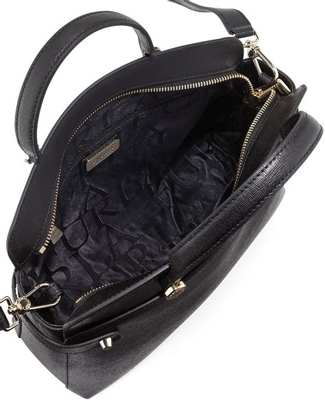 Tas Furla Agata Medium Black furla agata medium leather tote bag in black lyst