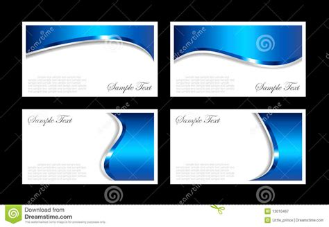 business card stock template business cards templates stock vector image of silver