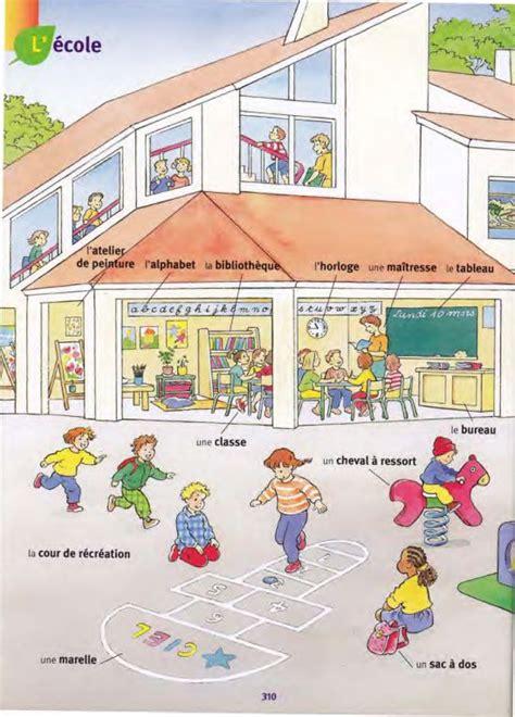 La Ecole Learn How To Be by L 233 Cole Larousse Des Maternelles Fle Lexique De La