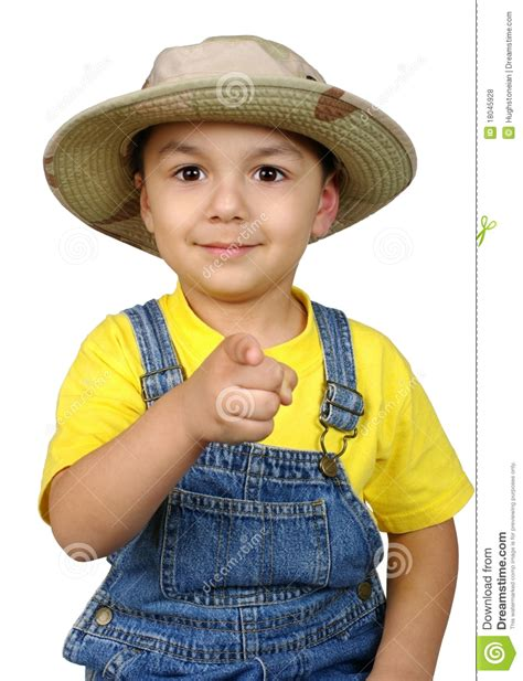 Kid On by Kid Pointing A Finger At You Stock Photo Image 18045928