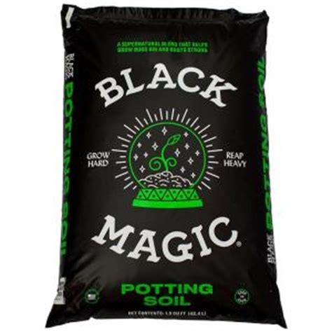 black magic 1 5 cu ft potting soil 1010172403 the home