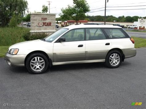 white subaru outback 2003 white frost pearl subaru outback wagon 16029830