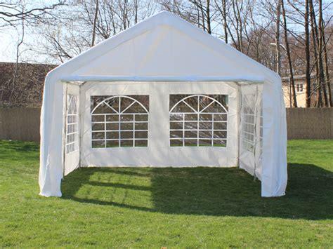 pavillon 4x4 wasserdicht partyzelt festzelt pavillon pe 4x4m 4 x 4 m gartenzelt