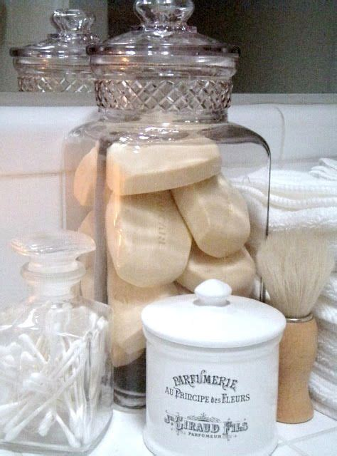 decorative soaps bathroom store soap qtips etc in a jar this is how i have always