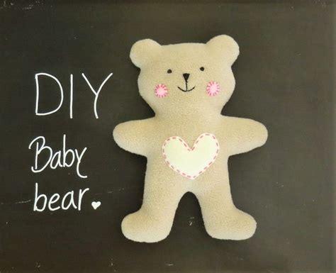 pattern bantal felt diy teddy bear free pattern and tutorial felt